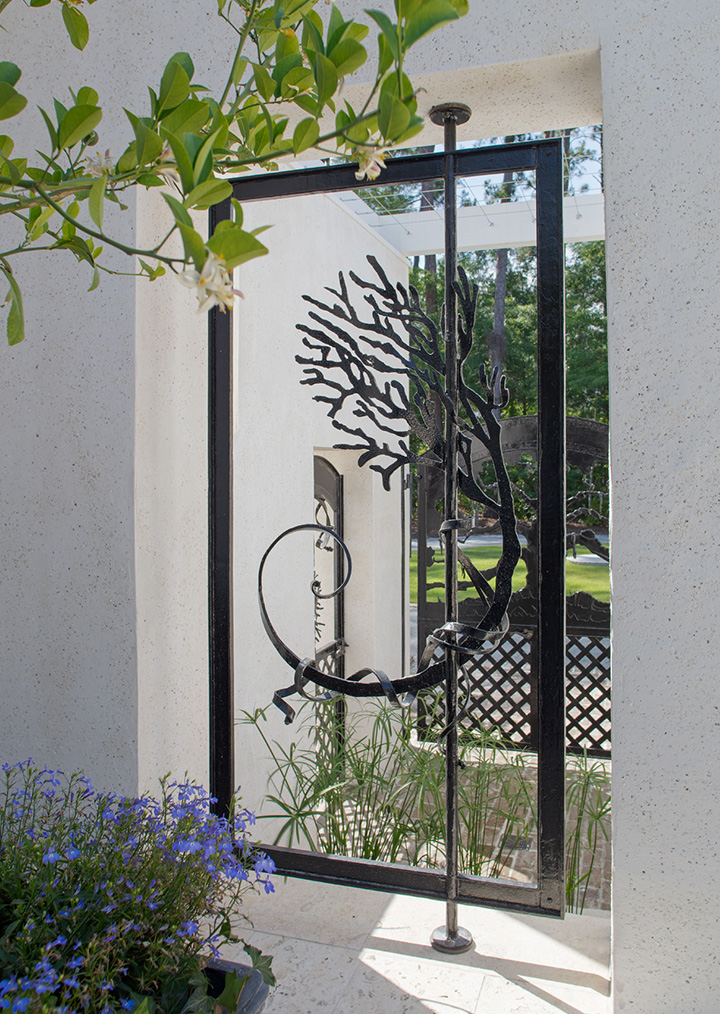 May River Forest Iron Gate